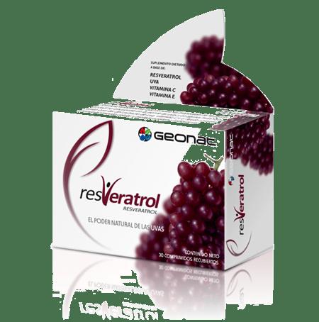 Resveratrol Geonat Probiotico X 30 Comprimidos