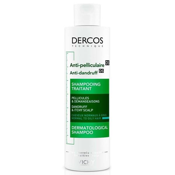 Vichy Dercos Shampoo Para Caspa Anti Graso Frasco