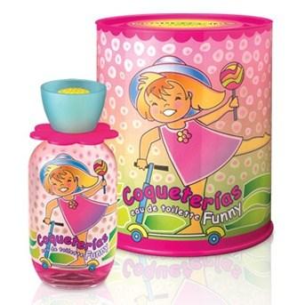 Perfume Coqueterias Flowers EDT Funny Lata x80ml