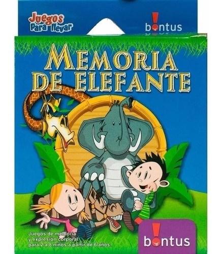 Memoria De Elefante Juego Cartas