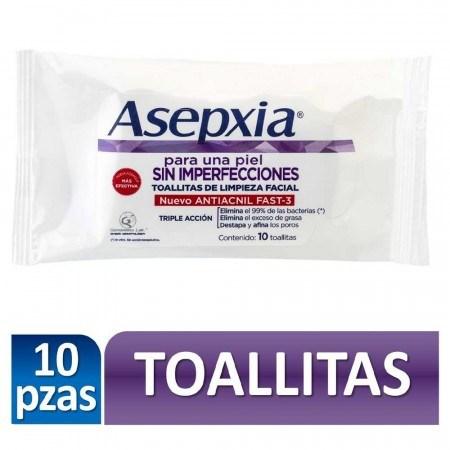 Asepxia Toallitas De Limpieza 10 Unidades