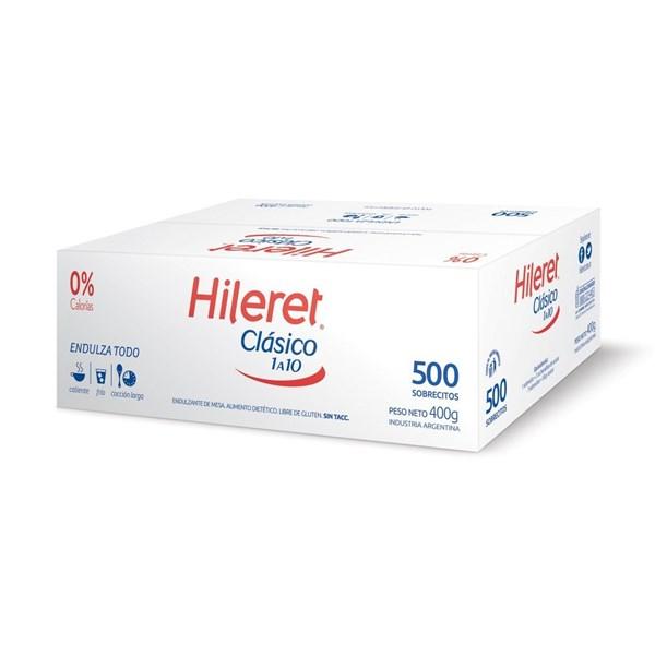 EDULCORANTE HILERET X 500 U