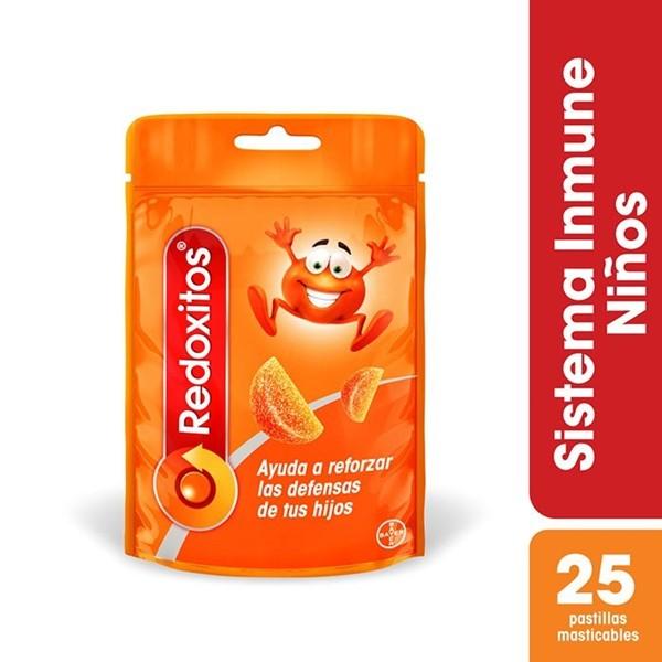 Multivitaminico Redoxitos Naranja Masticables Sachets X 25 Gomitas