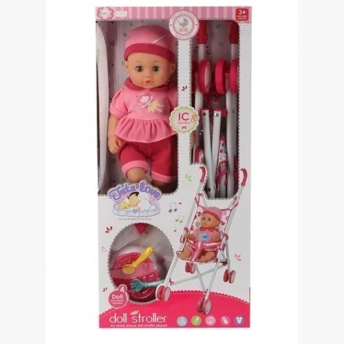 Muñeca Lalelu Doll Stroller Con Accesorios  #1