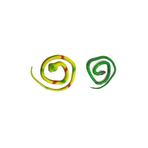 Serpiente de goma de 70 cm (unidad)
