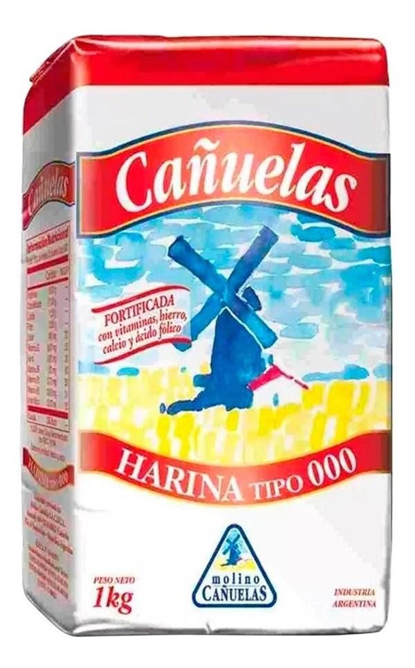 HARINA COMUN 000 CAÑUELAS  x 1 KG