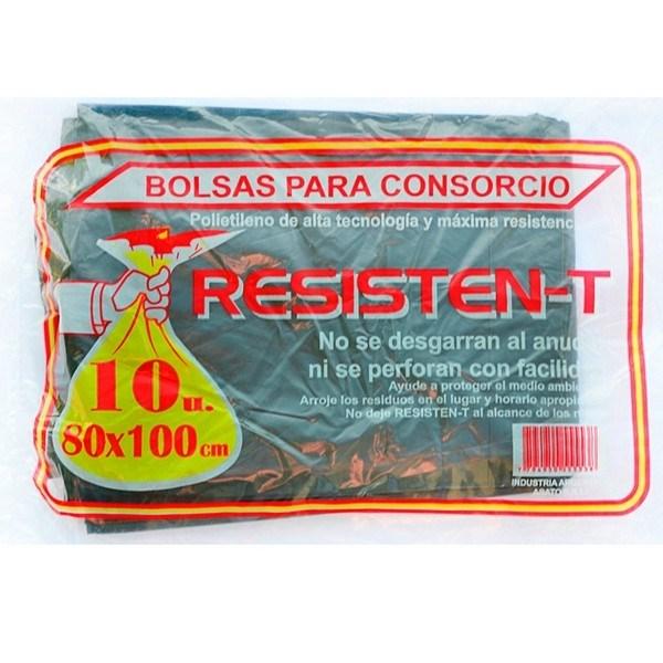 BOLSA CONSORCIO RESISTEN-T 80X100* x 10 U