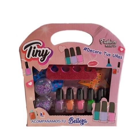 Set De Fantasía Maquillaje Decora Tus Uñas Tiny