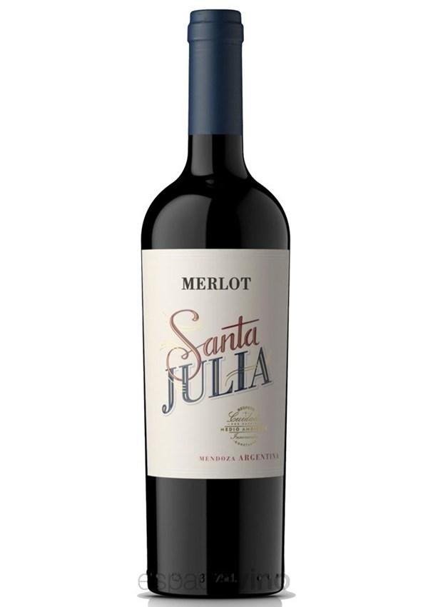 SANTA JULIA MERLOT x 750 CC