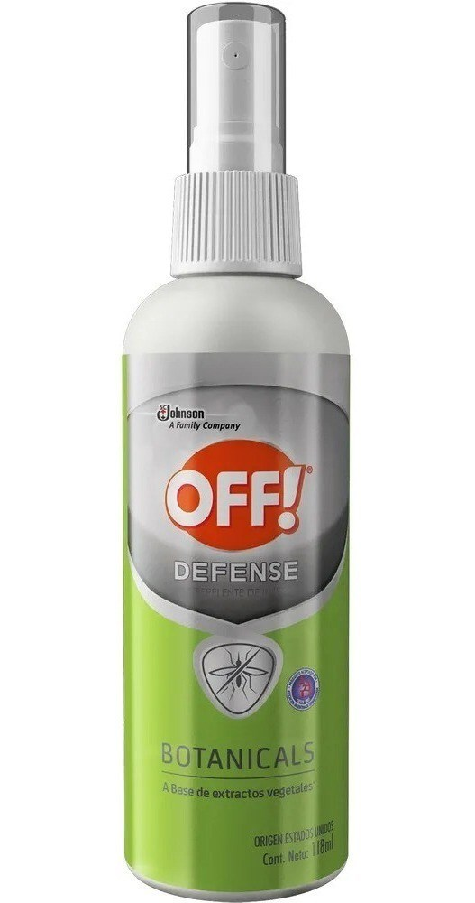 Repelente Off Defense Botanicals Spray x 118 ml  PROMO 2X1