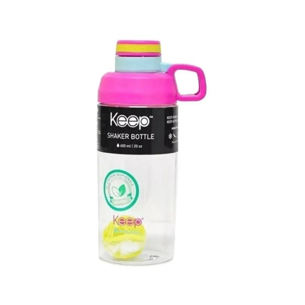Botella Shaker Keep x 600 ml COD3011