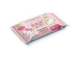 Toallitas Húmedas Hello Kitty x10 Unidades