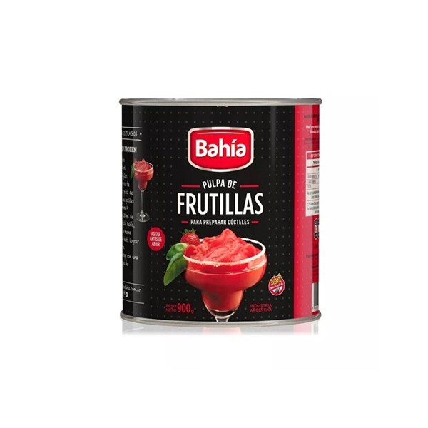 PULPA DE FRUTILLA BAHIA x 900 GRS