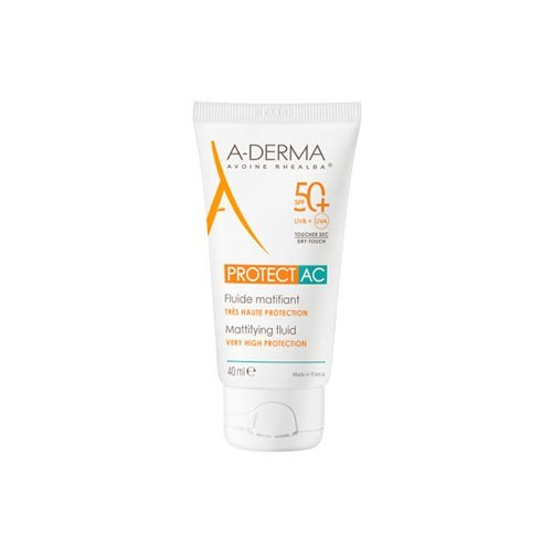 Fluido Protector A-Derma  AC Matificante Toque Seco x 40 ml