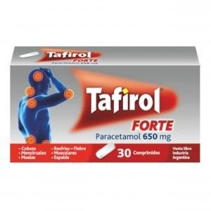 Genomma - Tafirol Forte (30 Comprimidos)