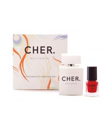 Perfume Cher Diecisiete Estuche (EDP 50ml + Esmalte Uñas)