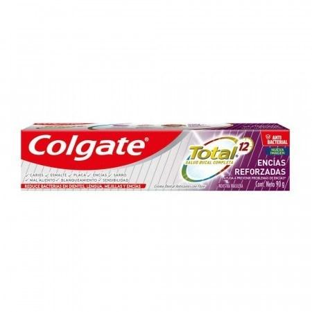 Crema Dental Colgate Total 12 Encías Reforzadas 90g