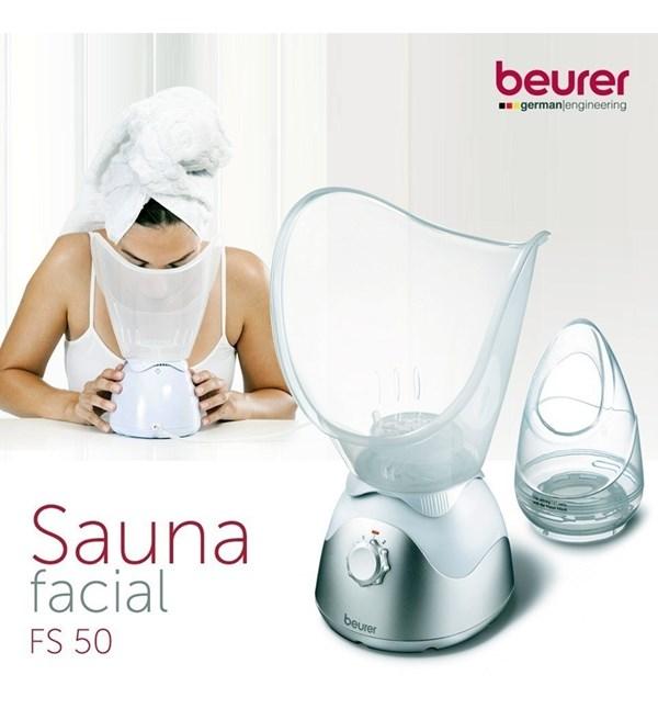 Sauna Facial Para Hidroterapia Beurer Fs 50