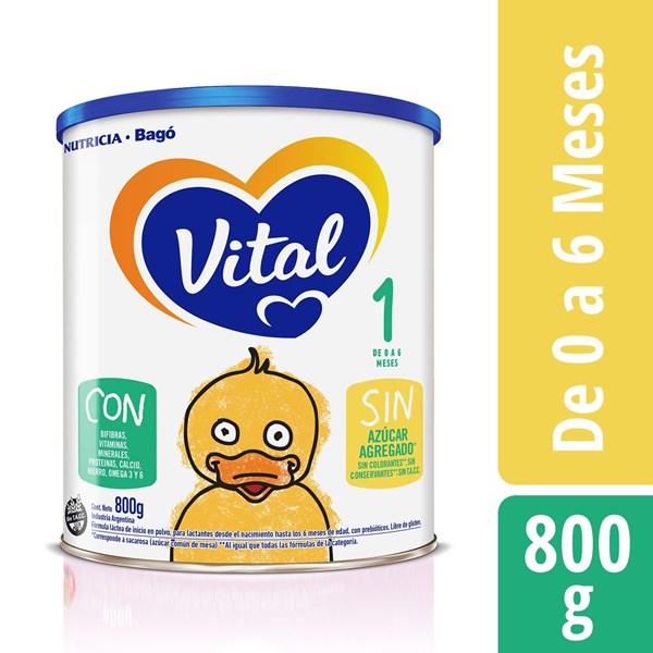 Leche Vital 1 NF Lata X 800 Gr