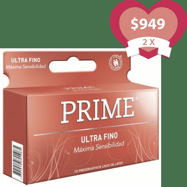 Combo 2X Preservativos Ultra Fino X 12 Unidades