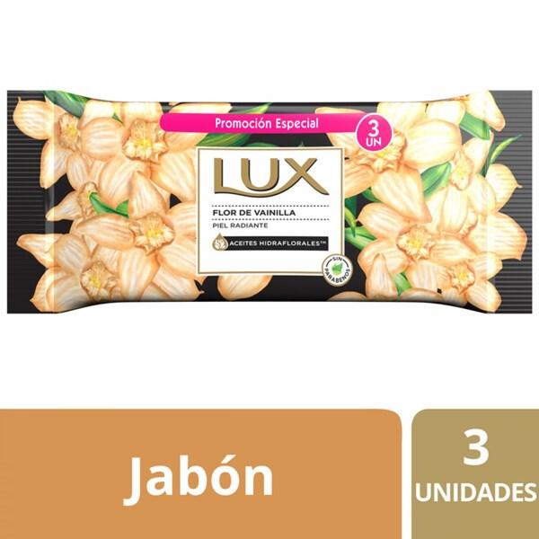 Jabon Lux Flor De Vainilla 3 X125 Gr