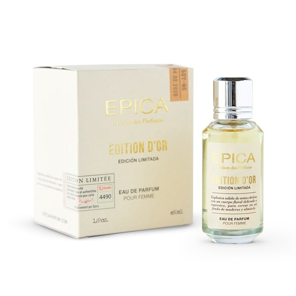 Perfume Epica Maison Des Parfums D'Or 50ml