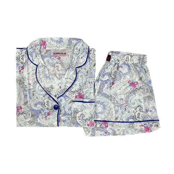 Pijama Conjunto Short Y Camisa Varios Talles