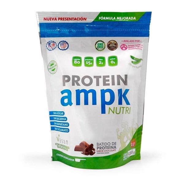 AMPK Suplemento dietario NUTRI VEGAN PROTEIN CHOCOLATE x 500 gr