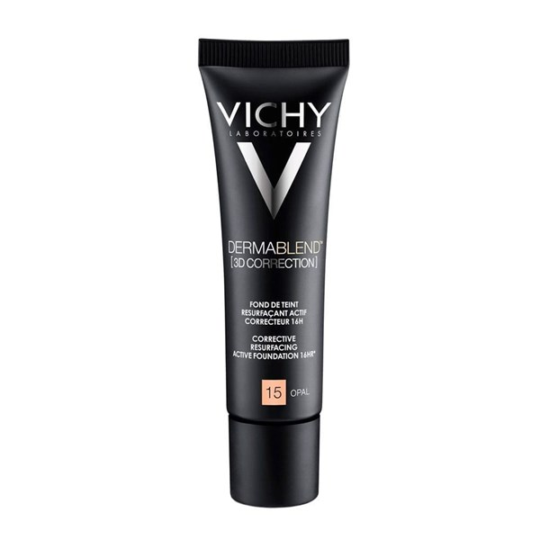 Base de Maquillaje Vichy Dermablend 3D Correction T 15  Pomo X 30ml. #1