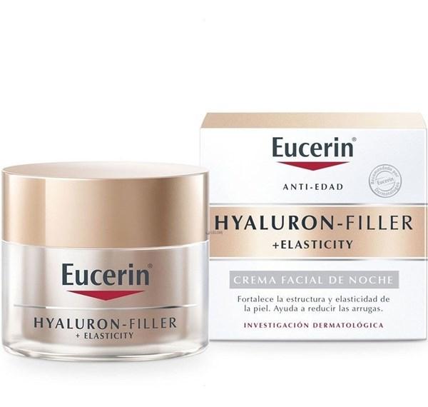 Eucerin Hyaluron-filler Crema Facial De Noche + Elasticity