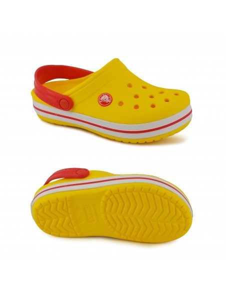 Crocs Band Kids Yellow Red Nº 35