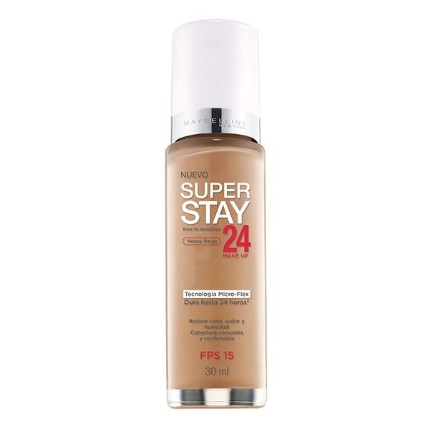 Base de maquillaje Maybelline Super Stay 24hs Honey Beige X 30 Ml
