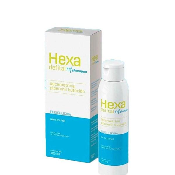 Hexa Defital Nf Shampoo Tratamiento Para Pediculosis 120 Ml