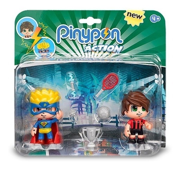Figuras Pinypon Action x2  alt