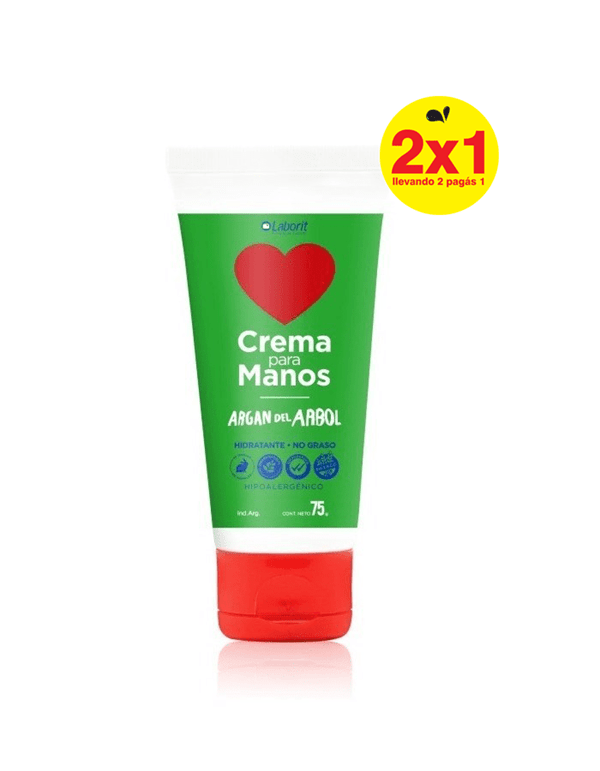 Laborit Crema De Manos Argan Del Arbol 75g Hidratación 2x1 #1