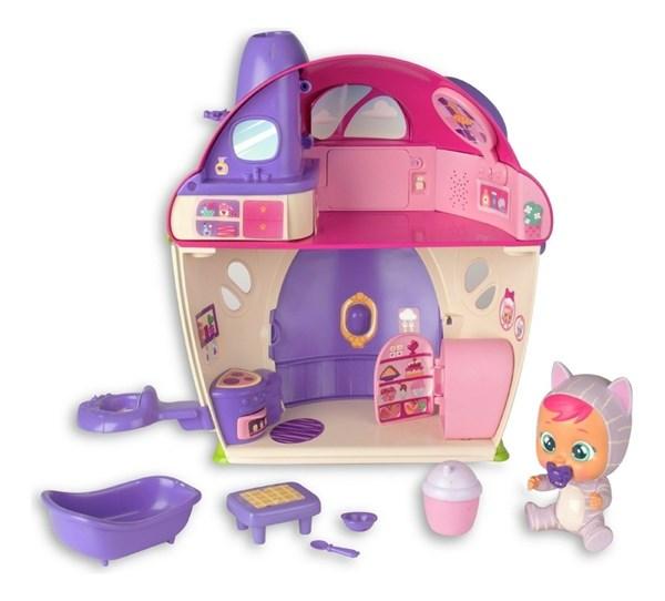 Cry Babies Casa Con Muñecas Y Accesorios alt
