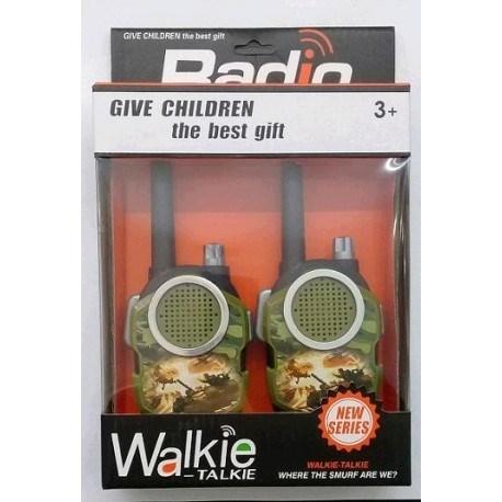 Walkie Talkie Radio a Batería