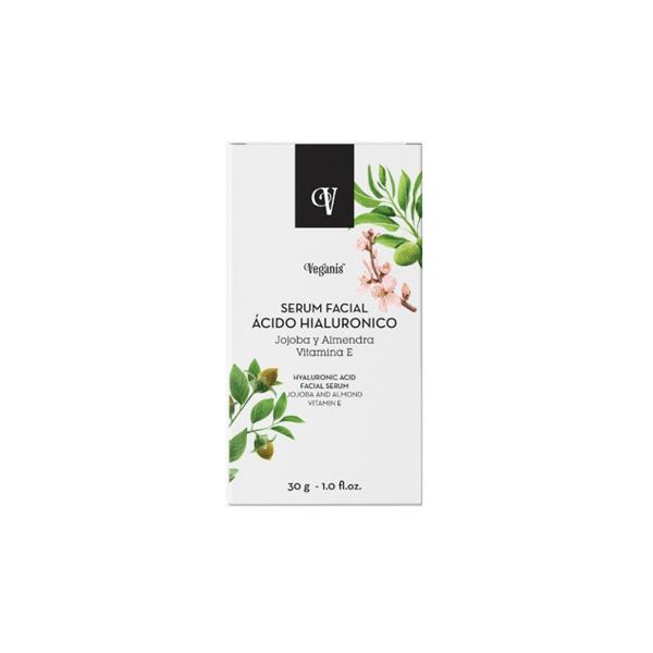 Veganis Serum Facial Ácido Hialurónico 30gr