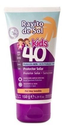 Rayito De Sol Kids F40 Crema X 150 Ml