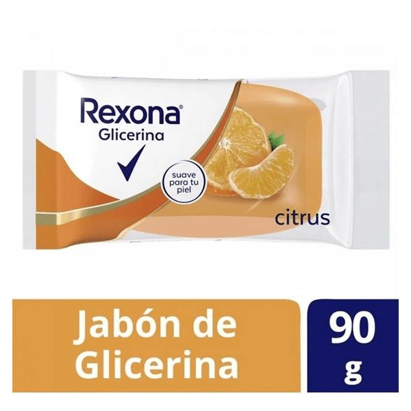 Rexona Jabón De Glicerina x90g Citrus
