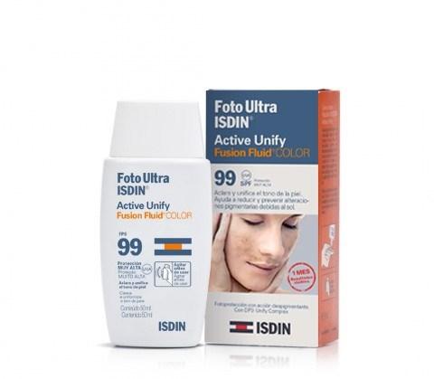 Isdin Foto Ultra Active Unify Spf99 Fluido Color 50ml #1