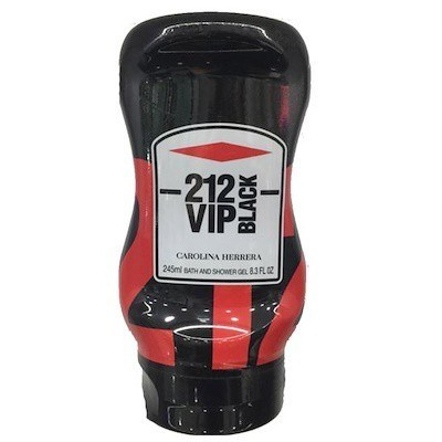 Carolina Herrera 212 Vip Black 245ml Bath Shower gel