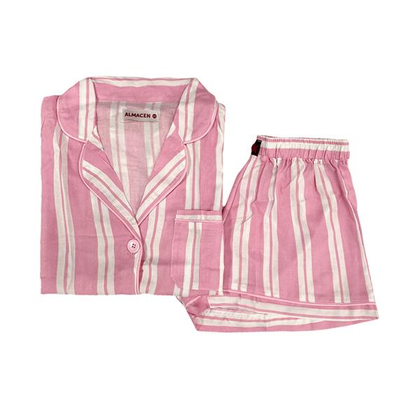 Pijama Conjunto Short Y Camisa Varios Talles alt