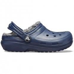 Crocs Classic Lined Clog C- Blue Jean