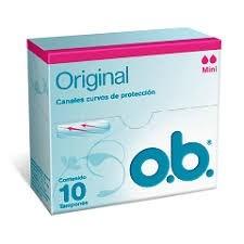 O.b Tampones Mini Original x10u