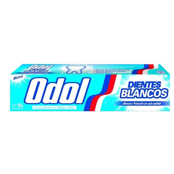 Crema Dental Odol Dientes Blancos X90grs