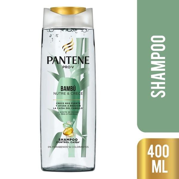 Pantene Shampoo x400ml Bambú