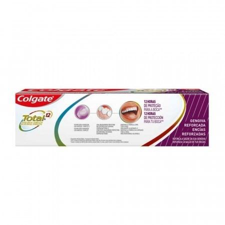 Crema Dental Colgate Total 12 Encías Reforzadas 90g alt