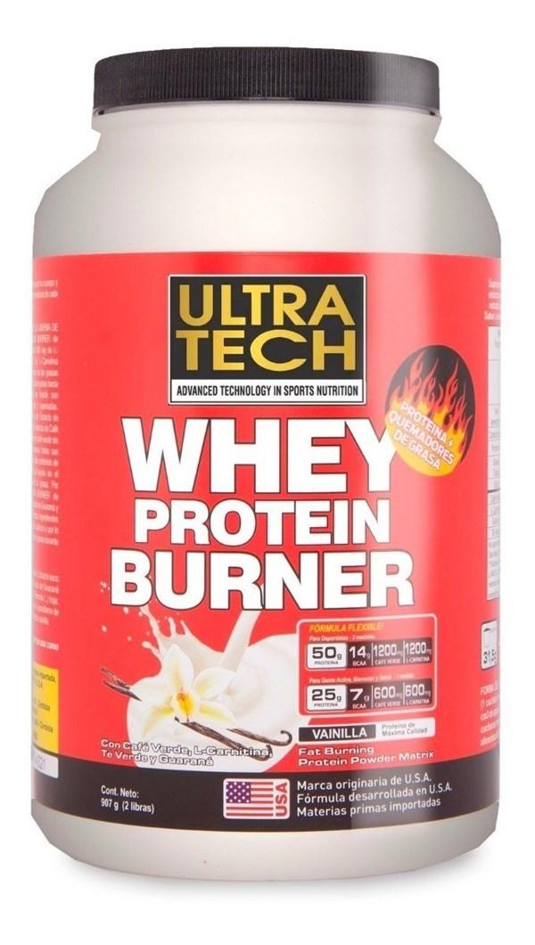 Whey Protein Burner 907g Sabor Vainilla