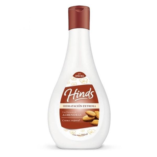 Crema corporal Hidratación Extrema con Extracto de Almendras
